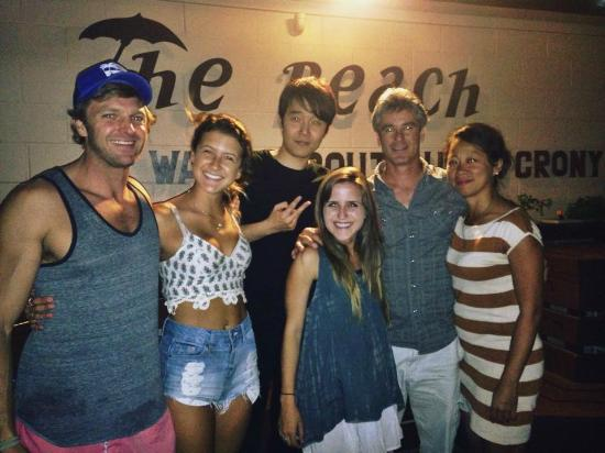 The Beach Waikiki Boutique Hostel: Visited by Chris Candella The LOST Hawaiian actor on the barbecue night April 2015