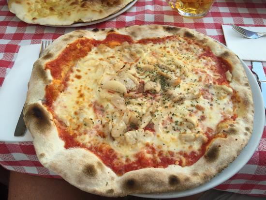 El Patio Plaza : Pizza Pollo