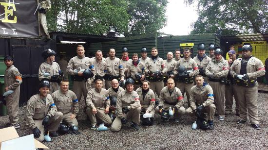 Delta Force Paintball Lichfield: DHL TEAM