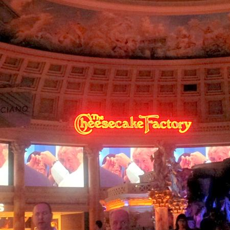 restaurant picture of the cheesecake factory las vegas. Black Bedroom Furniture Sets. Home Design Ideas