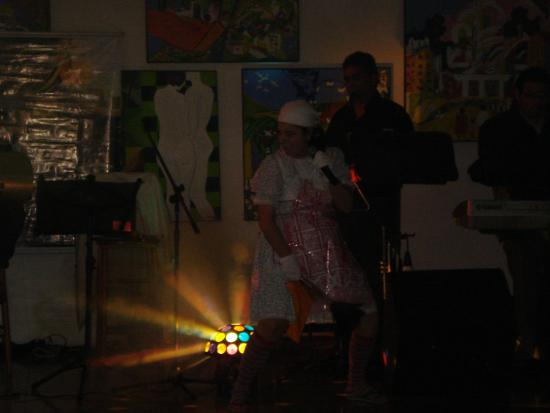 Nacional Inn Pocos de Caldas: Teatro no hotel