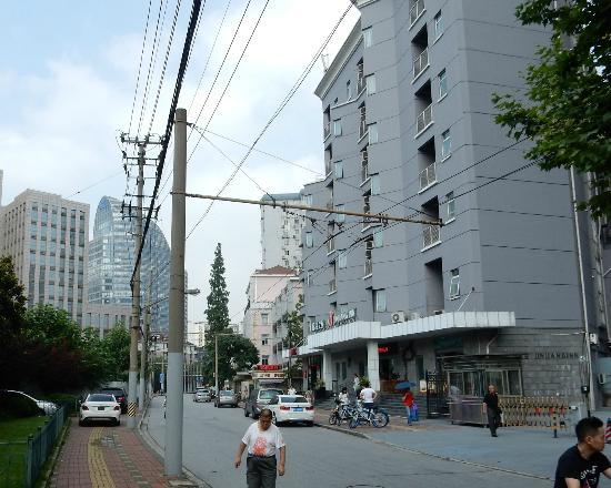 Jinjiang Inn (Shanghai Xuhui Jiaotong University) : Guangyuan Road in front of hotel