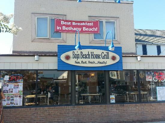baja beach house grill, bethany beach  menu, prices  restaurant, Beach House/