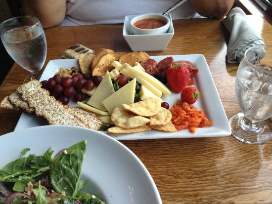 Pollock Dining Room: Charcuterie plate (all local)