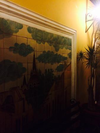 La Morada Hotel: Pasillo