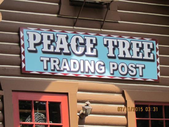 Peace Tree Trading Post: Outside entrance