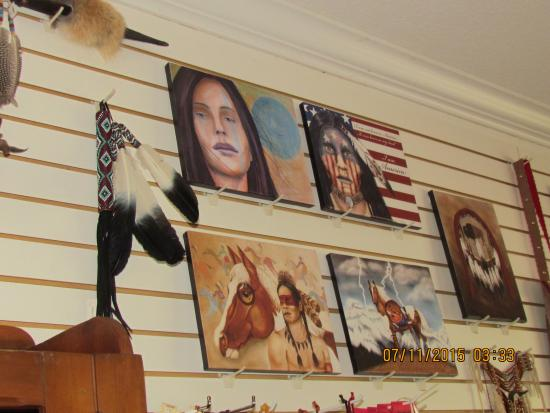 Peace Tree Trading Post: Merchandise available for purchase.......
