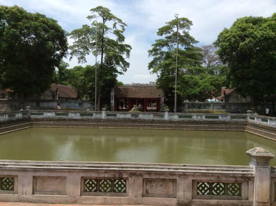 Square Pond Picture Of Temple Of Literature National University Hanoi Tripadvisor
