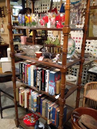 Shermans Dale, PA: Antiques in he basement