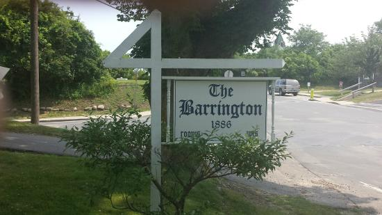 The Barrington Inn: In Font of the Inn