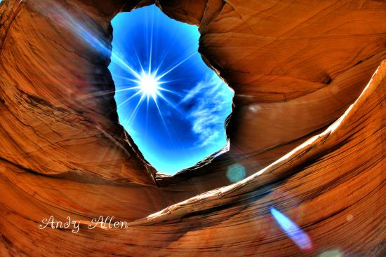 The Wave at Coyote Buttes: window