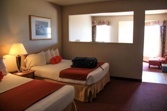 Ocean Shores, WA: Double queen room