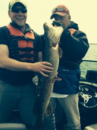 Cyrus Resort: Northern fishing is great
