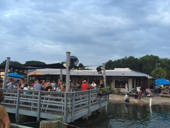 Picture of hudson 39 s seafood house on the for Fish restaurant hilton head