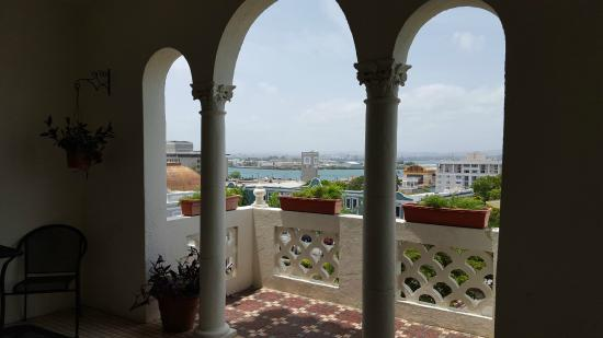 Posada San Francisco Old San Juan: view from shared balconies