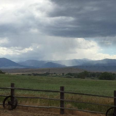 Lonesome Spur Ranch : View from Cabin
