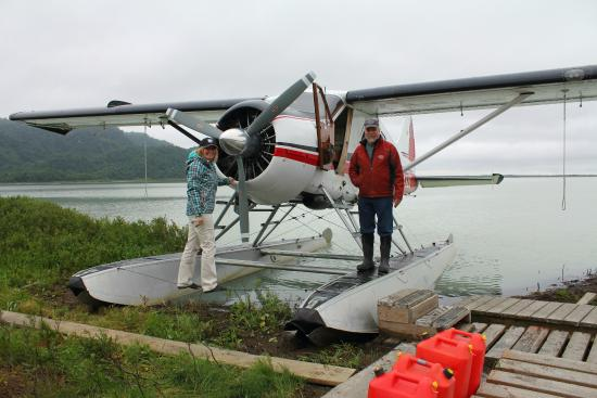 Nikiski, AK: Our float plane