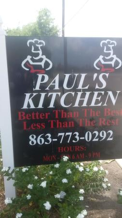 Paul's Kitchen Photo