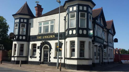 Eccles, UK: The Unicorn
