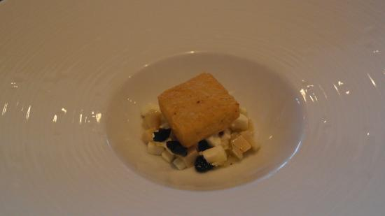 Restaurant Initiale : A cheese dish if I rem correctly (lost in translation)