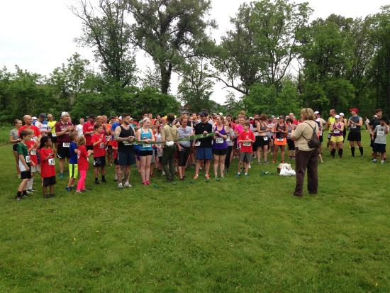 Chesterton, IN: great trail map, abundant wildlife, great outdoor classroom, lots of 5K races.