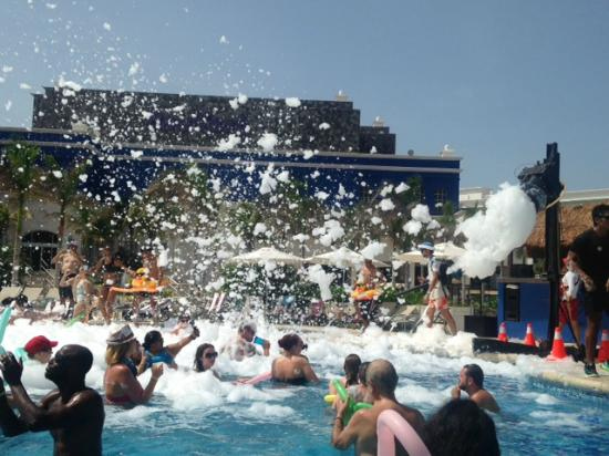 Foam Party Fun Picture Of Hard Rock Hotel Riviera Maya