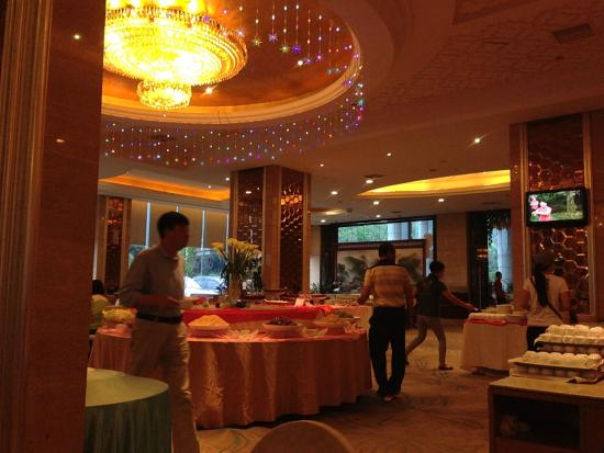 Dacheng Shanshui International Hotel: quiet at lunch and great food