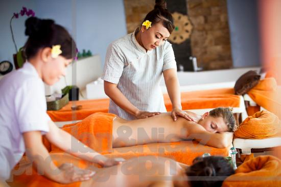 Wyndham Garden Kuta: Boenga Spa on 5th Floor Building Ocean View