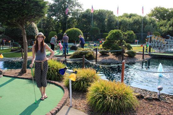Pacific Paradise Family Fun Center : Beautiful Course