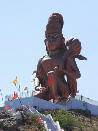 Narnaul, India: Khalda Wale Hanumanji