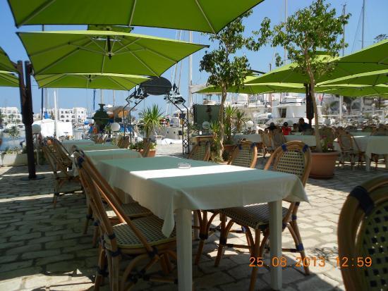 L'olivier Restaurant - Pizzeria : Superbe terrasse