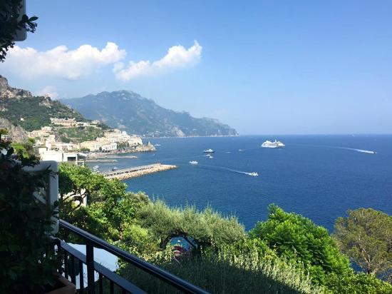 Santa Caterina Hotel: Vista