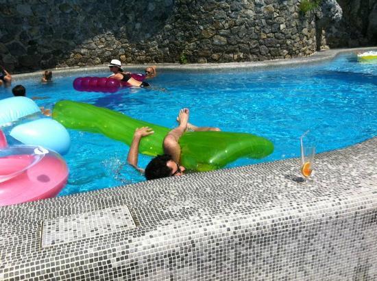 Santa Caterina Hotel: Piscina fantastica