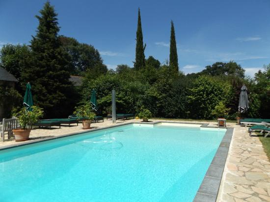 Chateau des Briottieres: Truly magnificent very private pool area