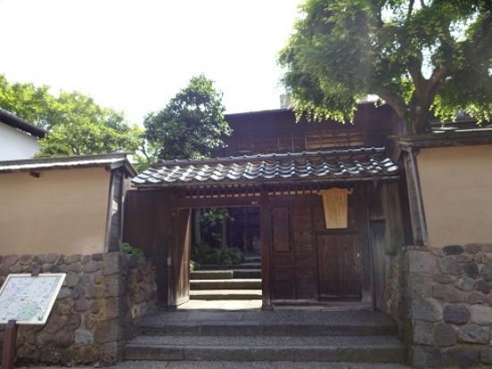 Terashima Kurando Samurai Villa: 外側から見る。