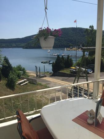 Yacht-Club Rursee: Ausblick