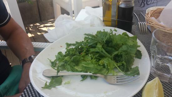 La Luna : Salade verte cuite
