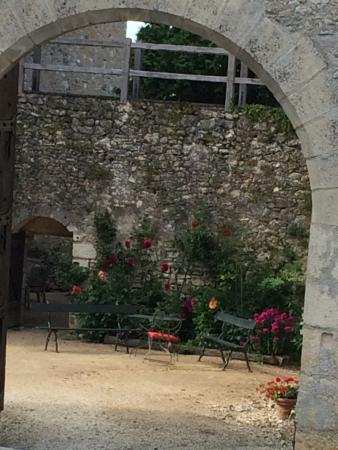 Chateau de Forges: Excellent idyllic chateau, great hosts