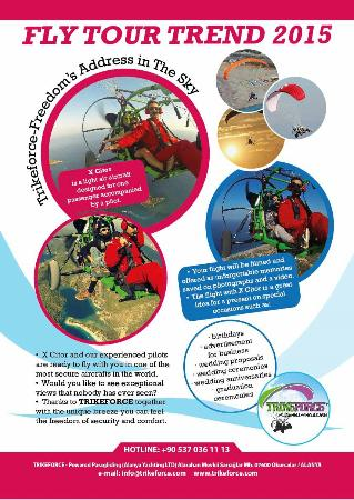 TRIKEFORCE - Powered Paragliding