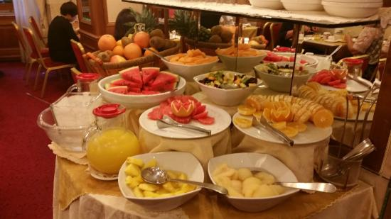 breakfast picture of hotel berna milan tripadvisor