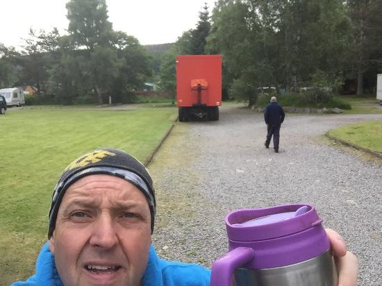 Cannich Caravan & Camping Park: Had a lovely few nights at the friendly park great location for walking and sightseeing a nice c