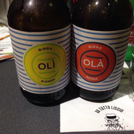 La Gitana: Birra chiara / birra scura