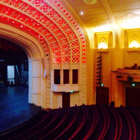 Empire Theatre: Beautiful theatre, suspended arch ceiling means no columns to block your view. Well done Toowoom