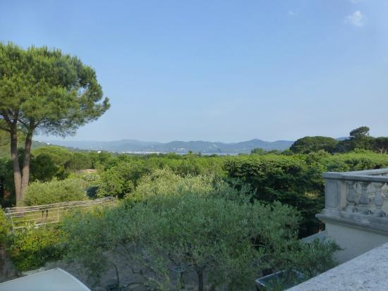 Bella Vista : Vue sur le golfe de St Tropez