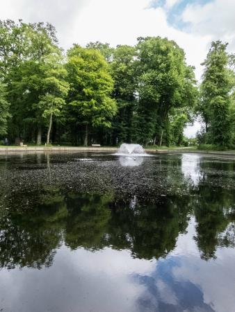 Round pool picture of antrim castle gardens antrim for Castle gardens pool
