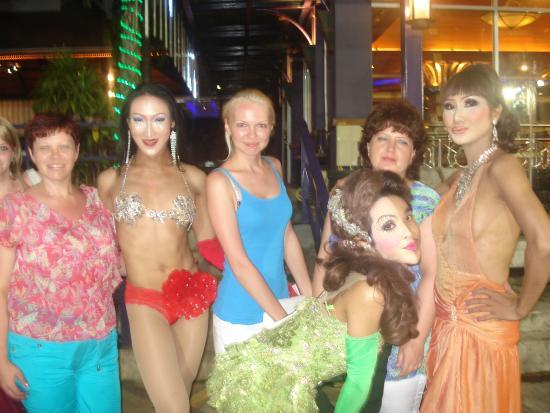 Aphrodite Cabaret Show : фото после шоу