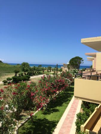Creta Sun Hotel Apartments: Utsikt fra rommet