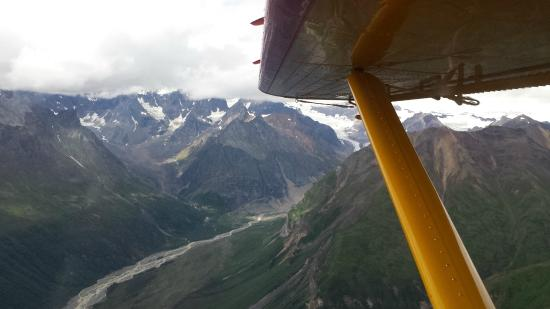 McCarthy, AK: View from flight back