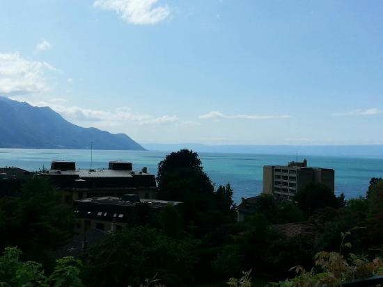Hotel Masson: Aussicht von der Terrasse des Zimmers