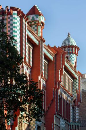 Photo of Monument / Landmark Casa Vicens at Carrer De Les Carolines, 18-24, Barcelona 08012, Spain